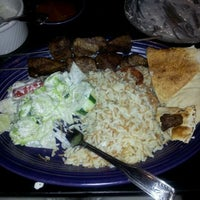 Photo taken at Kabob-G Grill by Plate P. on 5/22/2012