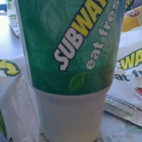 Photo taken at SUBWAY by Chris S. on 2/26/2012