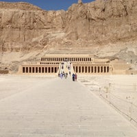 Photo taken at Mortuary Temple of Hatshepsut by Lindos on 3/20/2012