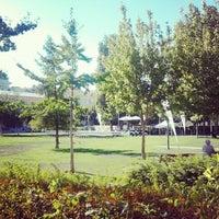 Photo taken at Jardim do Arco do Cego by Afonso V. on 9/2/2012
