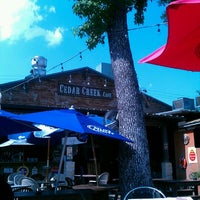 Photo taken at Cedar Creek Café, Bar & Grill by Enrique G. on 5/17/2012