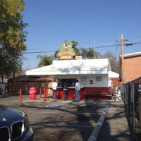 Photo taken at Taylor Brothers Hot Dog Stand by Adrian P. on 2/10/2012