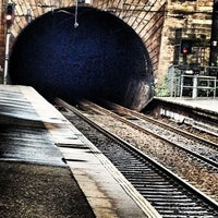 Photo taken at Haymarket Railway Station (HYM) by Alan B. on 6/28/2012