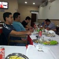 Photo taken at Restaurante e Pizzaria Dema Joe by Marcio S. on 3/14/2012