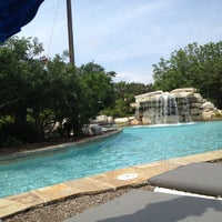 Photo taken at La Cantera Hill Country Resort Pool by Ana on 5/3/2012