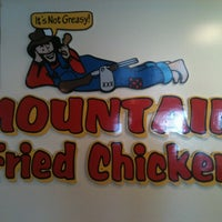 Photo taken at Mountain Fried Chicken by Thomas R. on 5/1/2012