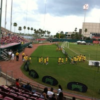 Photo taken at Al Lang Stadium by Chuck F. on 7/4/2012