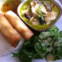 Photo taken at Lao Vientiane Restaurant by Elizabeth B. on 3/23/2012