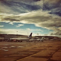 Photo taken at Aberdeen International Airport (ABZ) by Liam B. on 8/29/2012