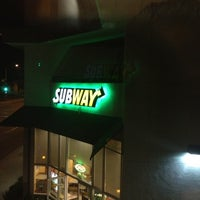 Photo taken at Subway Sandwiches by Perla on 8/4/2012