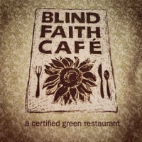 Photo taken at Blind Faith Cafe by Kim C. on 3/31/2012