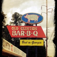 Photo taken at Old Clinton Bar-B-Q by Shawn on 3/3/2012