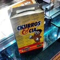 Photo taken at Churros&Cia by Rodrigo L. on 9/5/2012