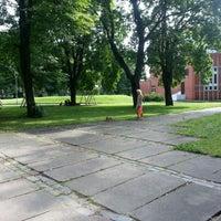 Photo taken at izpildkomirejas parks by Hardijs L. on 8/6/2012