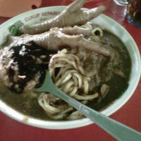 Photo taken at mie ayam giwangan by anissa s. on 5/5/2012