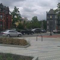 Photo taken at Ledroit Park Gate by Phil R. on 7/22/2012