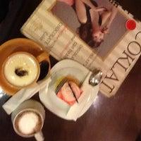 Photo taken at Coklat Cafe by JUJUN H. on 4/17/2012