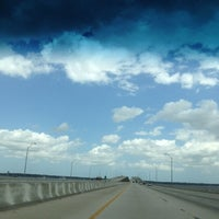 Photo taken at Henry Holland Buckman Bridge by Ferny D. on 4/14/2012