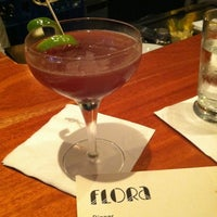 Photo taken at Flora Restaurant & Bar by barleypop b. on 4/1/2012