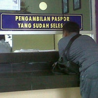 Photo taken at Kantor Imigrasi Kelas II Dumai by Eva M. on 3/22/2012