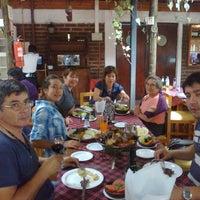 Photo taken at Restaurante La Greda by Pamela N. on 2/26/2012