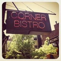 Photo taken at Corner Bistro by Dan S. on 4/27/2012