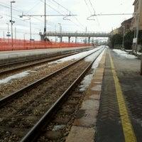 Photo taken at Stazione Falconara Marittima by Pasquale V. on 2/19/2012