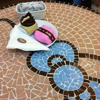Photo taken at Sanrio Café by Claudia B. on 2/27/2012