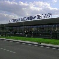 Photo taken at Skopje Alexander the Great Airport (SKP) by Emir L. on 4/12/2012