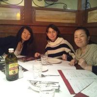 Photo taken at Romano's Macaroni Grill by De Vallion P. on 3/11/2012