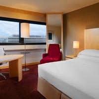 Photo taken at Sheraton Frankfurt Airport Hotel & Conference Center by Sheraton Frankfurt Airport Hotel on 7/13/2012