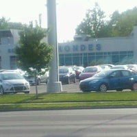 Photo taken at Brondes Ford by John S. on 5/15/2012