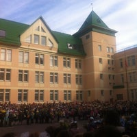 Photo taken at Школа № 253 by Геннадий on 9/1/2012