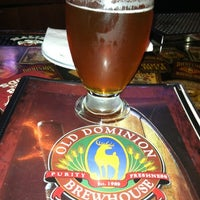 Photo taken at Old Dominion Brewhouse by F I. on 4/28/2012