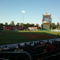 Photo taken at Raley Field by Cory K. on 8/3/2012
