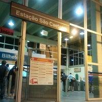Photo taken at Estação São Caetano do Sul (CPTM) by Danilo A. on 3/1/2012