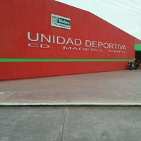 Photo taken at Unidad Deportiva de Ciudad Madero by roberto U. on 5/25/2012