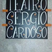 Photo taken at Teatro Sérgio Cardoso by Ricardo S. on 7/18/2012