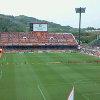 Photo taken at IAI Stadium Nihondaira by walta on 5/26/2012