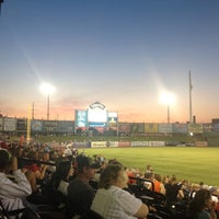 Photo taken at Clipper Magazine Stadium by Alyssa E. on 5/20/2012