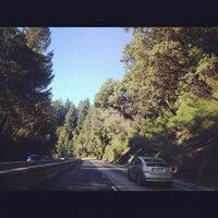 Photo taken at Santa Cruz Mountains by Melody L. on 3/2/2012