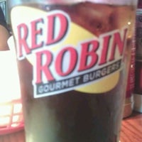 Photo taken at Red Robin Gourmet Burgers by Susan B. on 8/22/2012