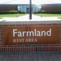 Photo taken at Farm Land Rest Area - Westbound by Markus C. on 4/22/2012