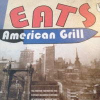 Photo taken at Eats American Grill by Kathryn B. on 5/6/2012