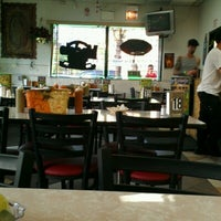 Photo taken at Taquería Los Comales by Meowser K. on 6/16/2012