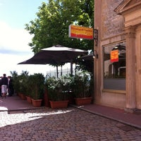 Photo taken at Restaurant de Fourvière by Douglas W. on 5/6/2012
