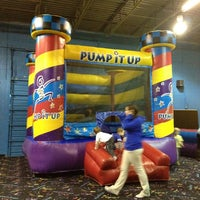 Photo taken at Pump It Up by Meredith H. on 3/10/2012