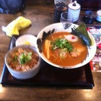 Photo taken at らーめん政 by Masami M. on 4/17/2012