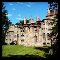 Photo taken at Fonthill Castle by Erik R. on 6/7/2012