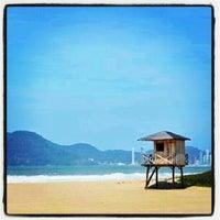 Photo taken at Praia Brava by Ere D. on 9/7/2012